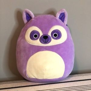 Purple Racoon Squishmallow 7 inch